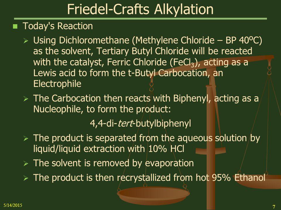 Friedel Crafts Alkylation Biphenyl