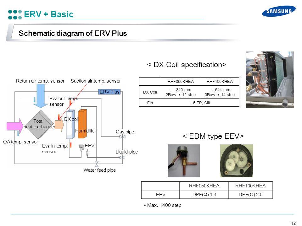 ERV + Basic Schematic diagram of ERV Plus