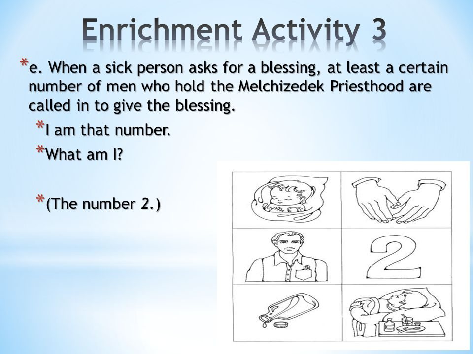 Enrichment Activity 3