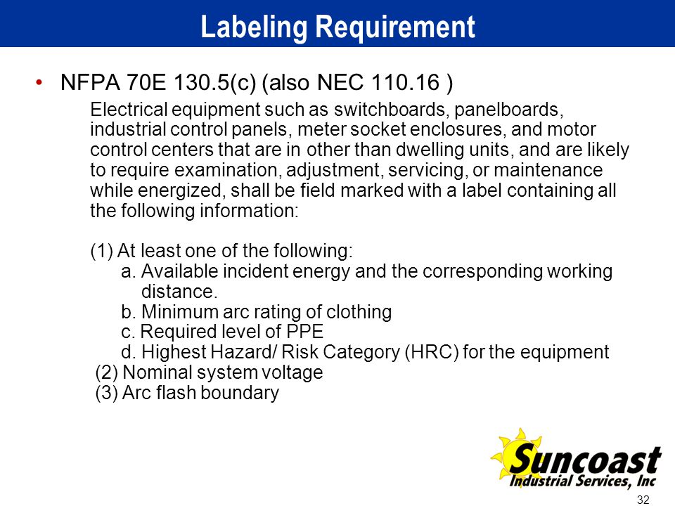 Applying The 2012 Nfpa 70e Arc Flash Standard Ppt Video