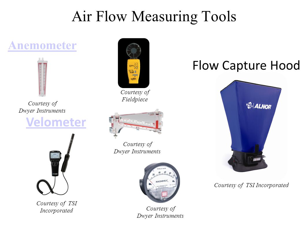 Air Flow Measuring Tools