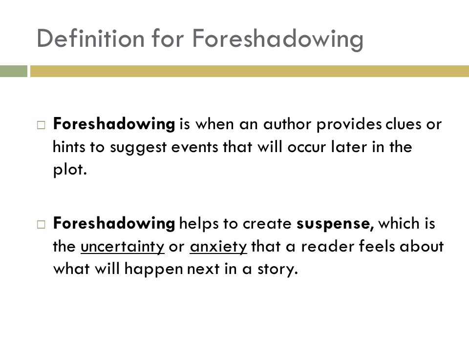 "foreshadowing and irony in ""story of The foreshadowing in of mice and men was a crucial part of understanding the whole book sometimes books have reoccurring events within the story that all represent one example of foreshadowing."