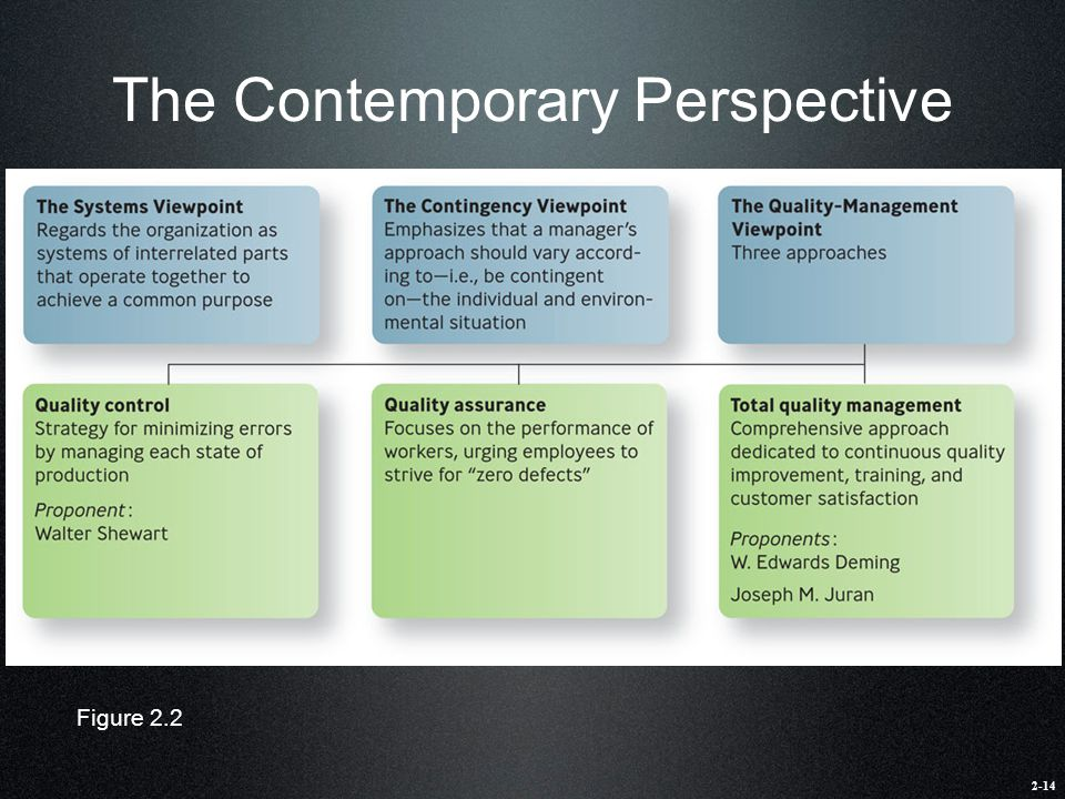 The Contemporary Perspective