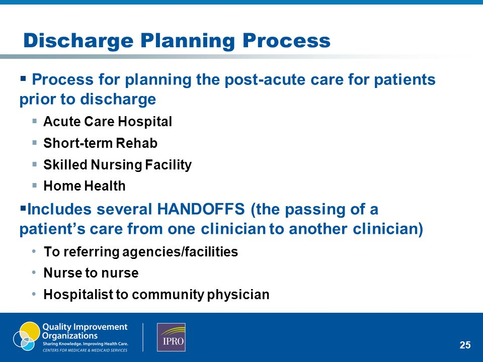 MAPPING YOUR DISCHARGE PROCESS AND HANDOFFS - ppt video ...