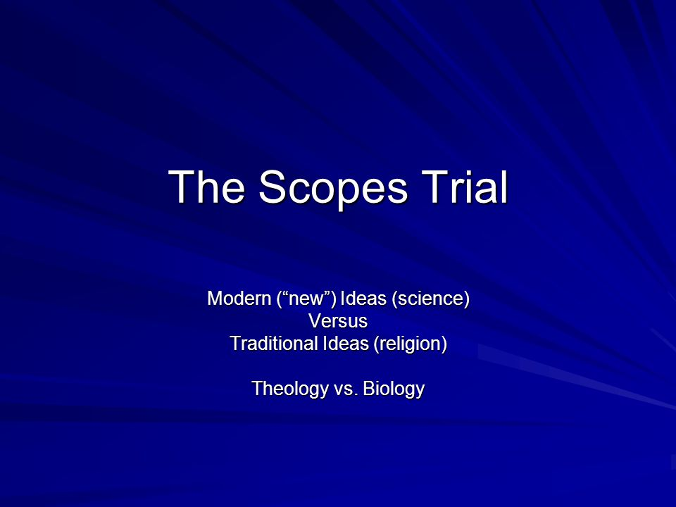 scopes trial and new technology Jump to great gatsby - - mount rushmore - - scopes monkey trial - - sears first   new yorker magazine - - grand ole opry- - popular culture - - technology.