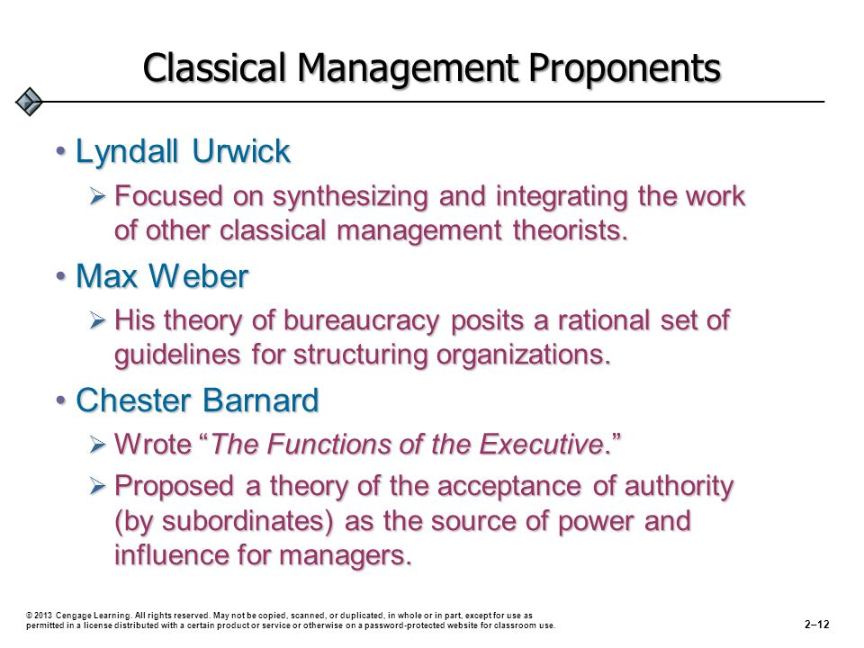 are the classical management functions useful The 14 principles of management: then and now principle then now generalization in workers' job design employees are empowered functions have only one plan and one boss employees are committed to the organization reasonable pay reward system.