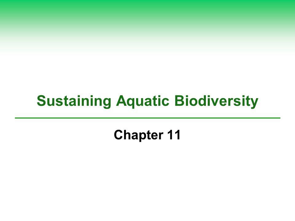 sustaining aquatic biodiversity notes View sustaining aquatic biodiversity notes from science ap environ at freeman high chapter 12: sustaining aquatic biodiversity iaquatic biodiversity what do we know about aquatic biodiversity.