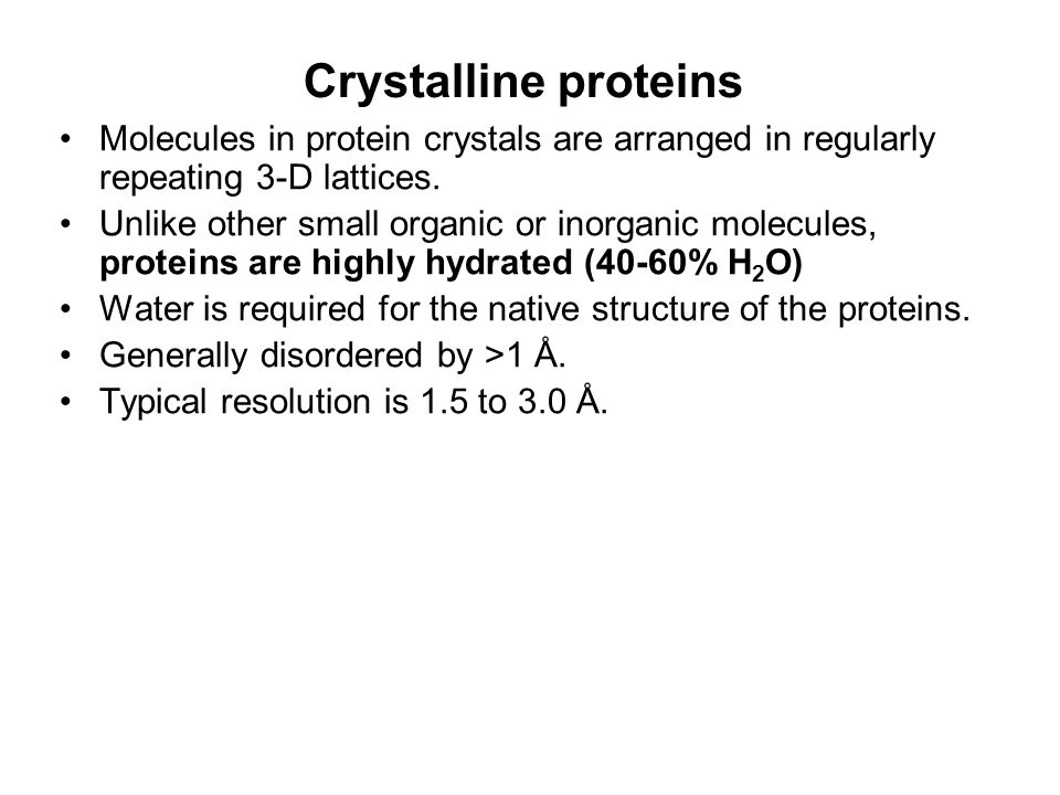 Lecture 11 Test next week in class Protein structure. - ppt video ...