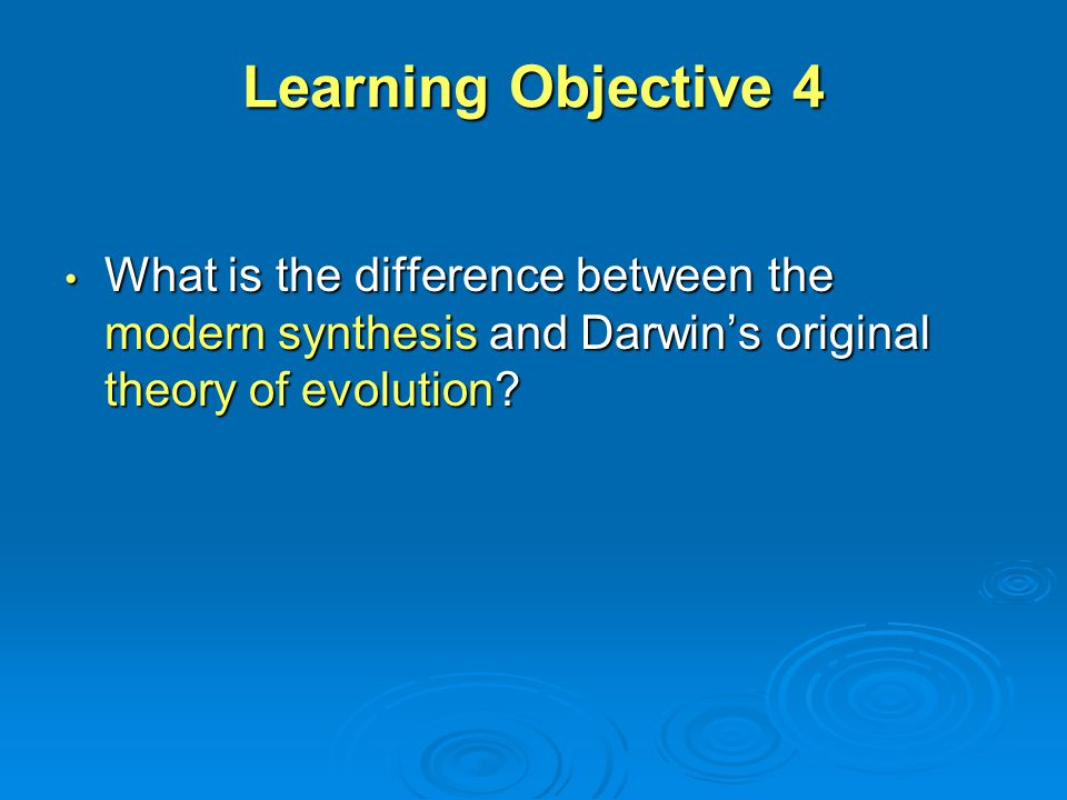 Difference Between Theory Of Evolution And Natural Selection