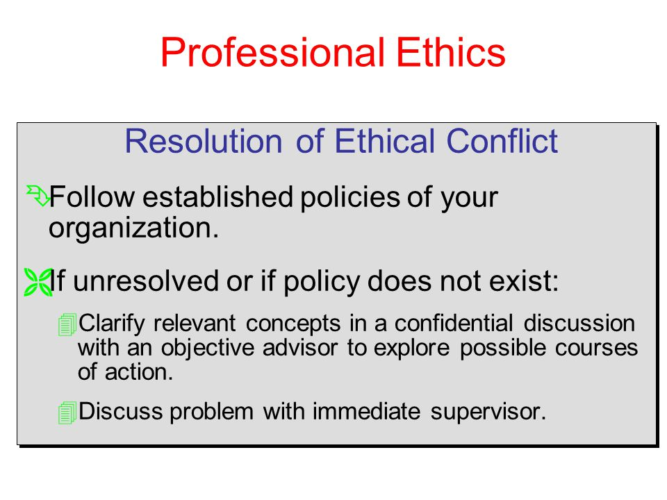 Organizational Ethics: Gender Issues and Resolution