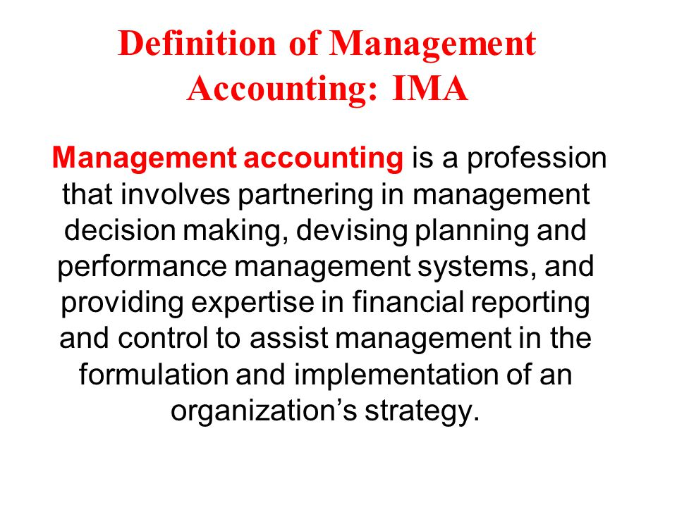 advanced management accounting Contains leading-edge treatment of innovative management accounting issues used by major companies throughout the world advanced management accounting provides a systematic management- oriented approach to advanced management topics.