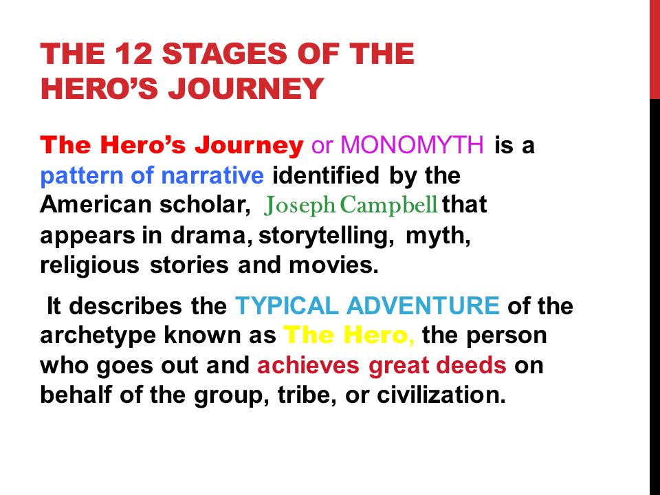 the initiation stage of a heros journey Stage 2: initiation  the hero must deal with whatever issues were left unresolved at this stage of the journey taking moral inventory, examining the shadow, .