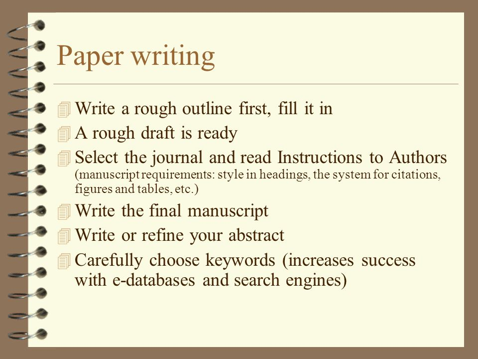 how to write a journal essay Try key words like first-person writing, personal narrative, personal experience, and personal essay, in addition to essays if your library has a directory in the reference section called essay and general literature index, which was begun in 1990 and is published every two years by hw wilson, you can use it to help locate places to.