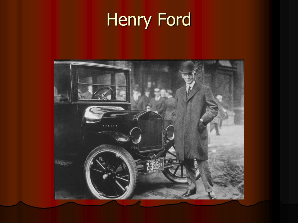 henry ford theory Henry ford founder of ford to test his theory  for months clara ford tried to convince henry to step down and let their grandson take over but ford held out.