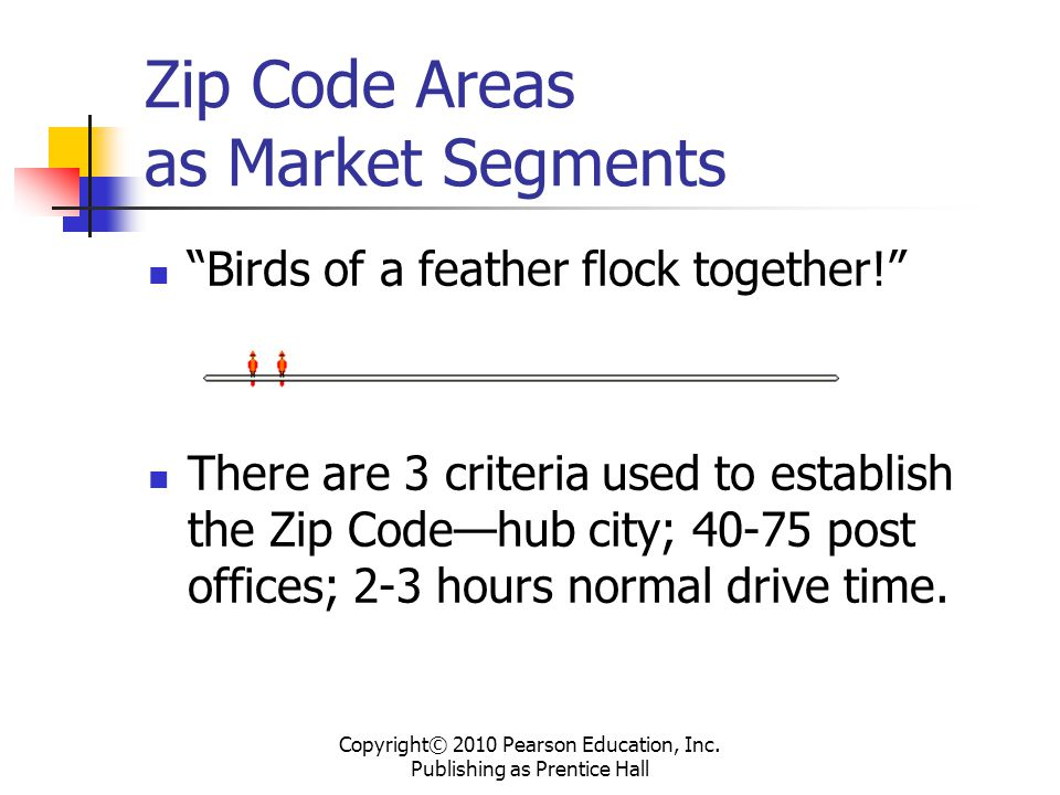 Zip Code Areas as Market Segments