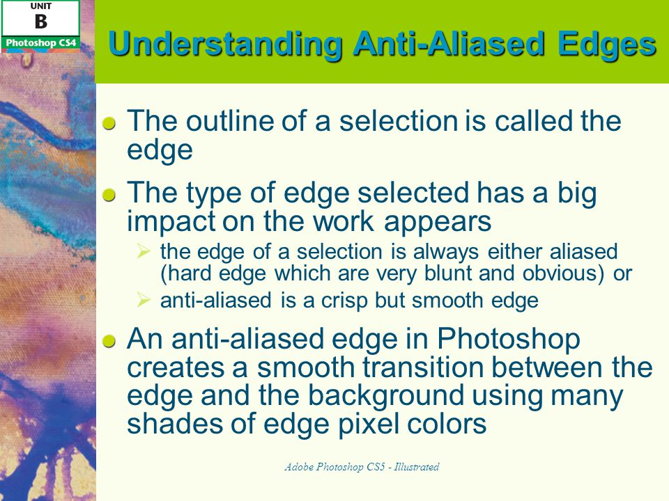 Understanding Anti-Aliased Edges