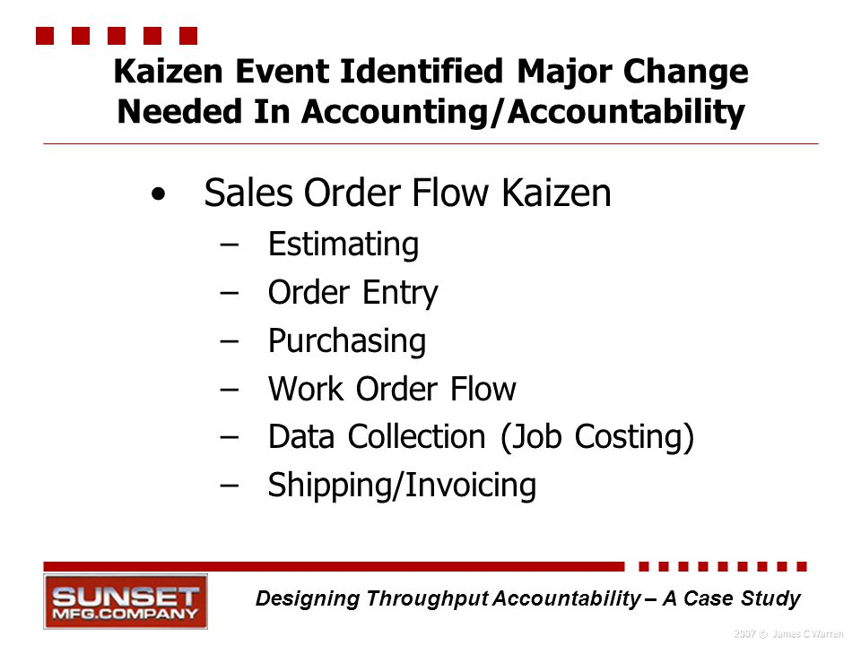 kaizen costing case study in india Kaizen 改善) is the  where all line personnel are expected to stop their moving production line in case of any  case study and analysis of an enterprise-wide.