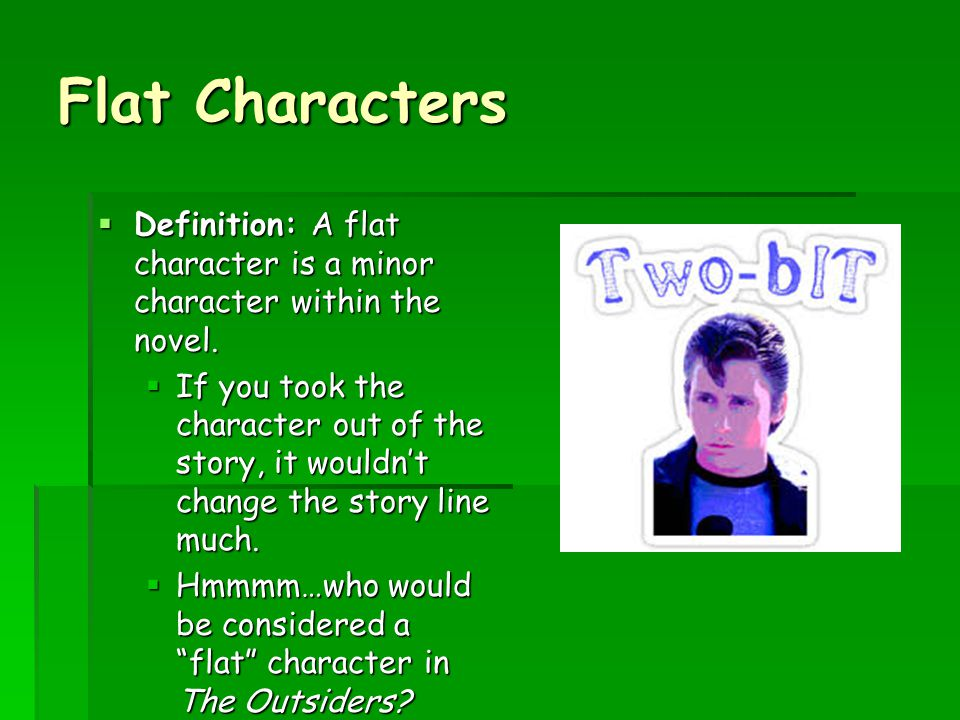 the outsiders minor characters notes Major and minor characters of the outsiders learn with flashcards, games, and more — for free.