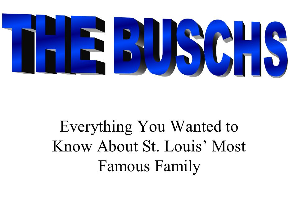 Everything You Wanted to Know About St. Louis' Most Famous ...