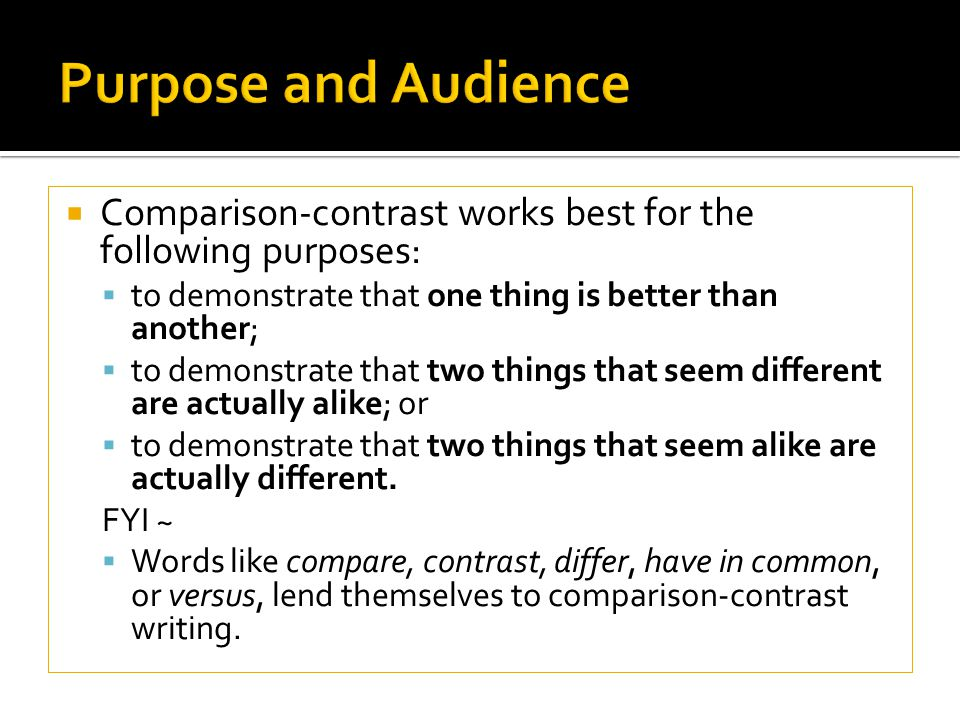 compare and contrast that of the Compare and contrast essays are some of the most interesting assignments and students (well, some) enjoy writing them this is because unlike most kinds of.