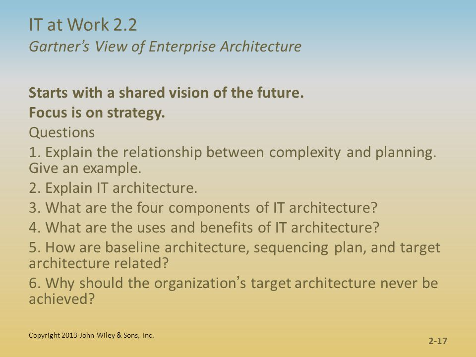 Information Management And It Architecture Ppt Video