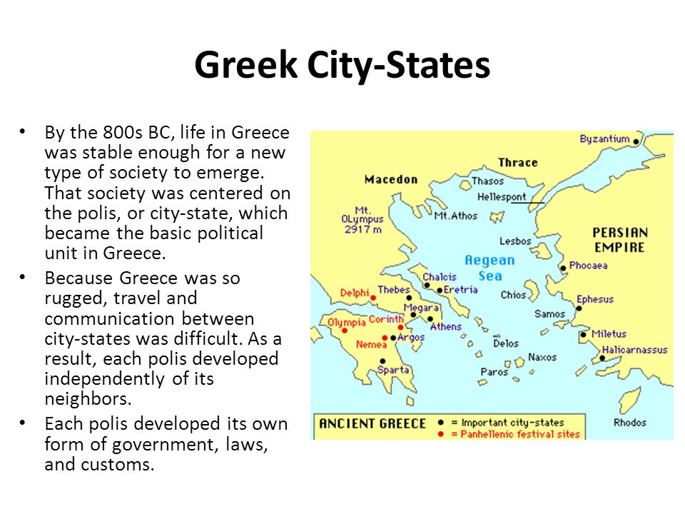 the rise of greek city states Find out more about the history of ancient greece, including videos, interesting  articles, pictures, historical features and more  and every one of these city- states (known as poleis) was said to be protected by a  the rise of the tyrants.