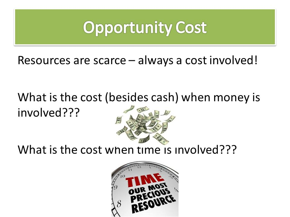 opportunity cost in economics pdf