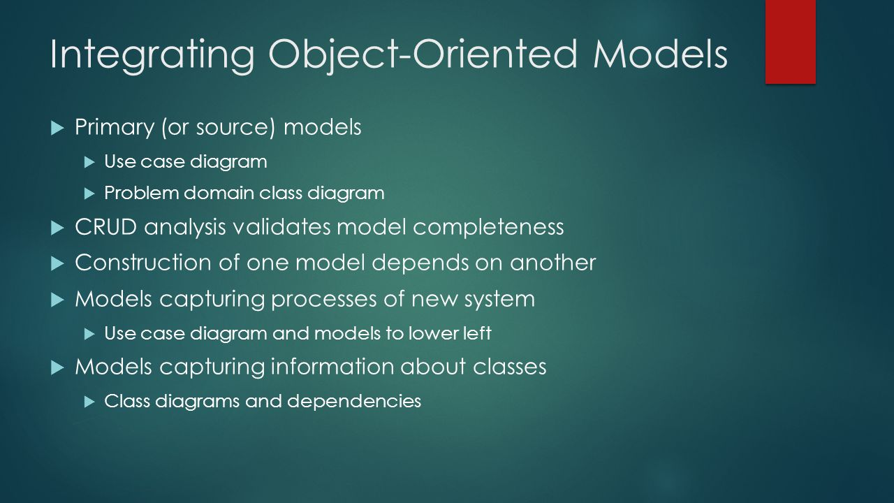 Integrating Object-Oriented Models