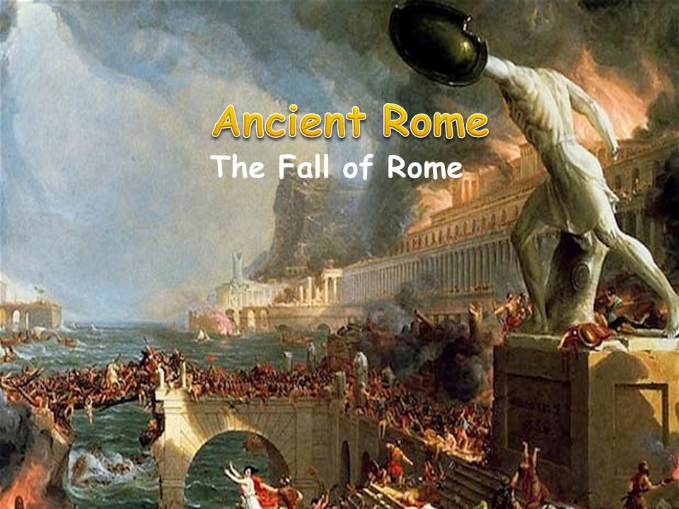 collapse of the roman empire versus Decline and fall of the roman empire, vol 5, by edward gibbon, [1788], full text etext at sacred-textscom.