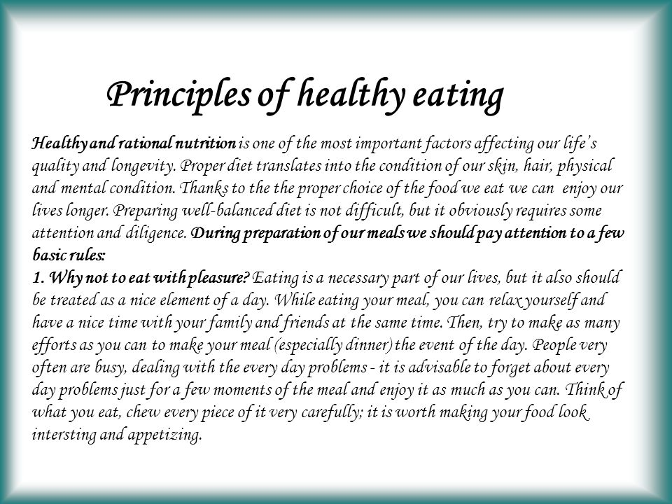 Healthy Eating Ppt Video Online Download