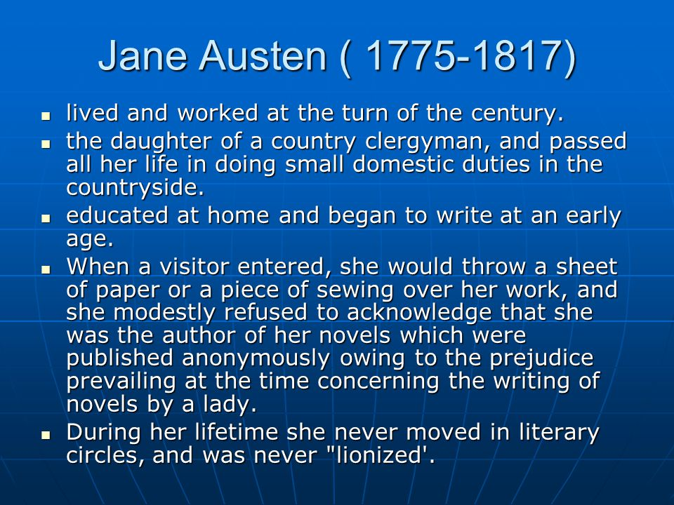 pride and prejudice and persuasion summary Personal background jane austen's life resembles her novels — at first glance they seem to be composed of a series of quiet, unexceptional events however, just as readers find that the complexity of austen's novel lies in its characters and style, those studying austen herself discover that the events of her life are.