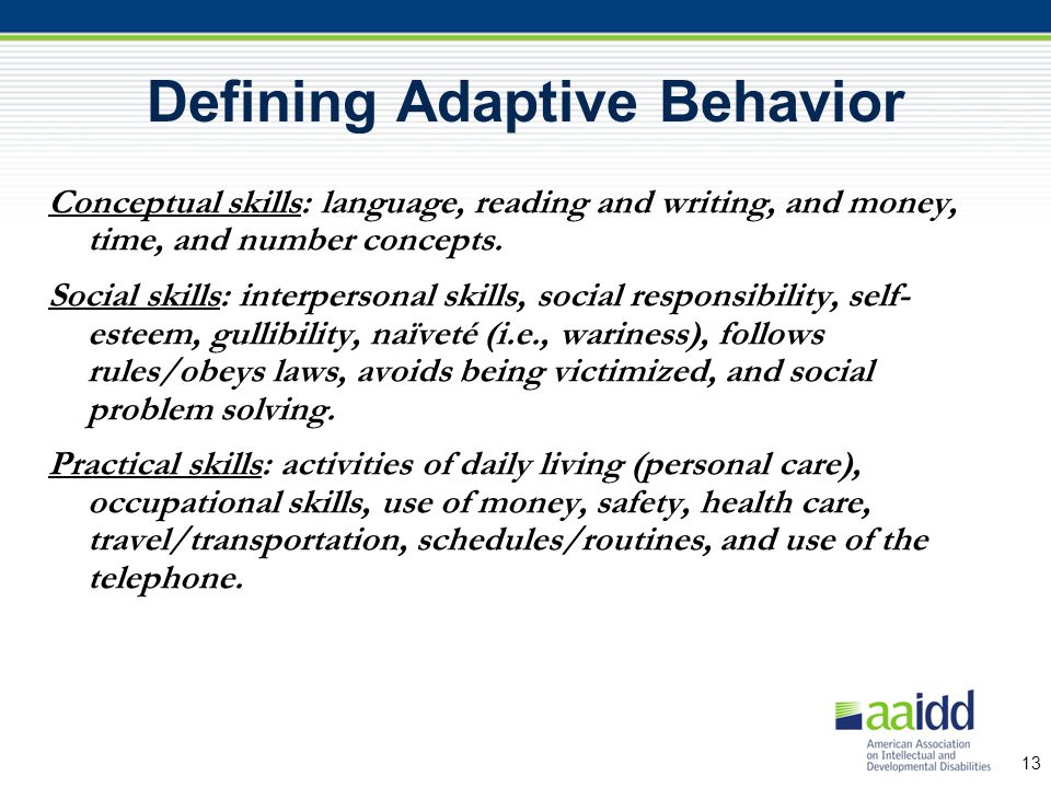 Meanings of Intelligence and Adaptive Behavior - Essay Example