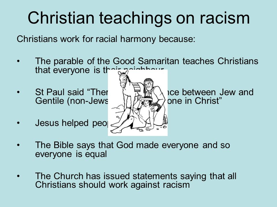 christian views on racial harmony and 652 quotes have been tagged as harmony: albert einstein: 'out of clutter, find simplicity', hermann hesse: 'that is where my dearest and brightest dream.