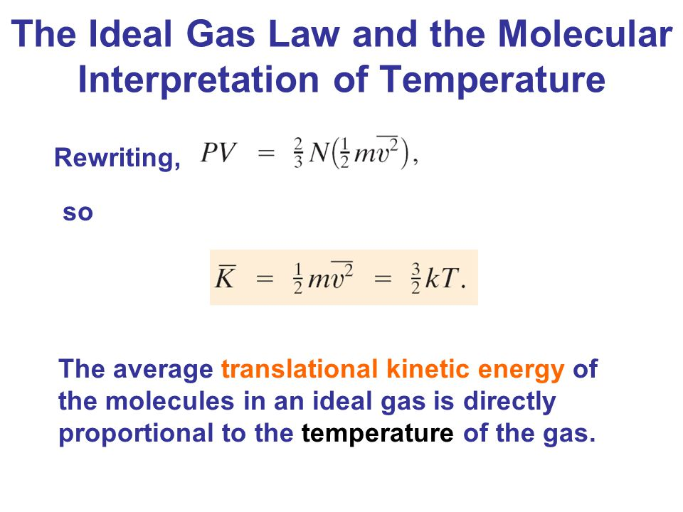 kinetic energy of gases pdf