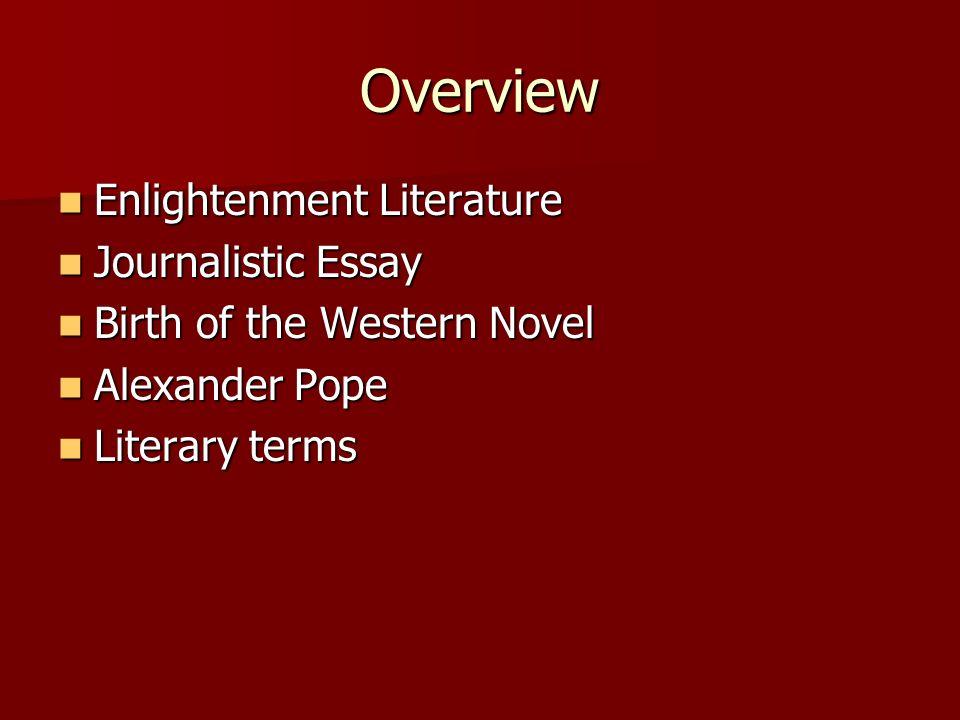 examples of literary essays