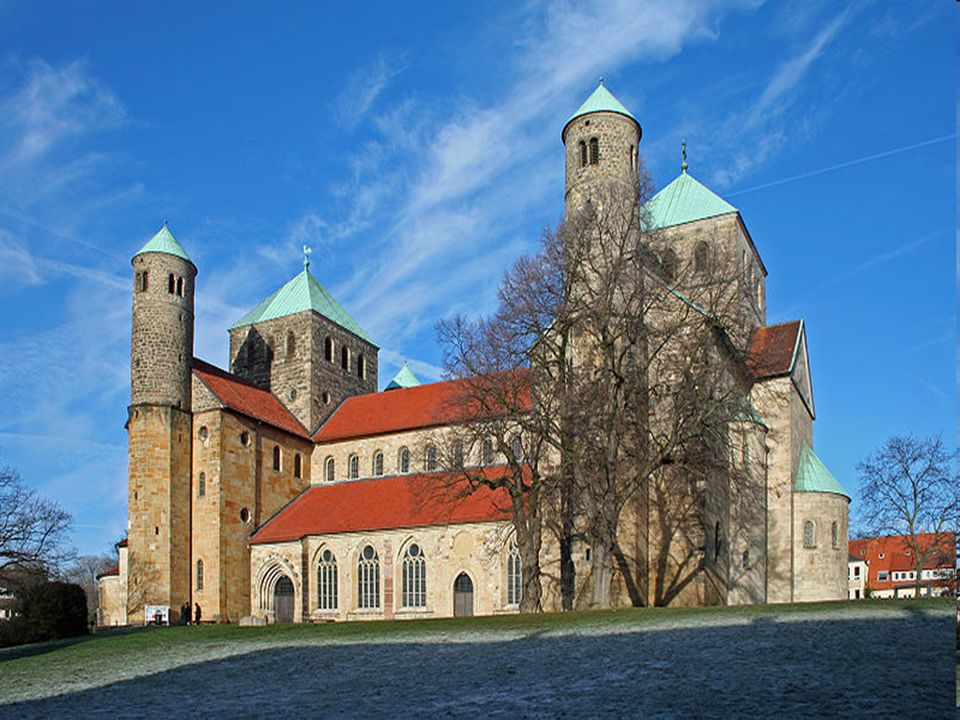 Church of St. Michael in Hildescheim, Germany