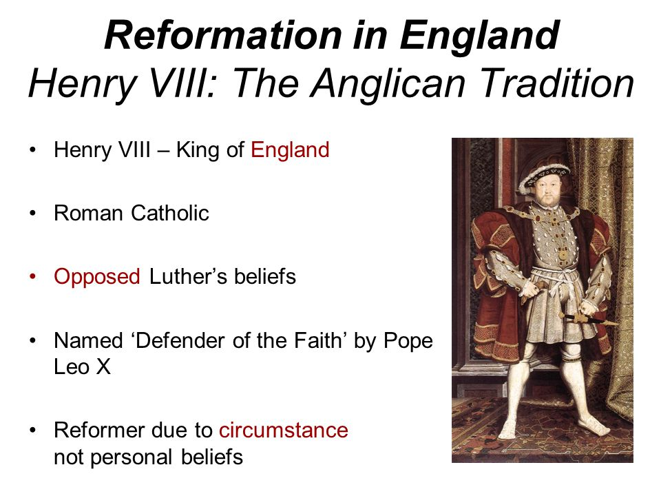 luther v s henry viii Sir michael dummett lecture theatre, christ church christopher haigh is a  historian of english religion in the 16th and 17th centuries.