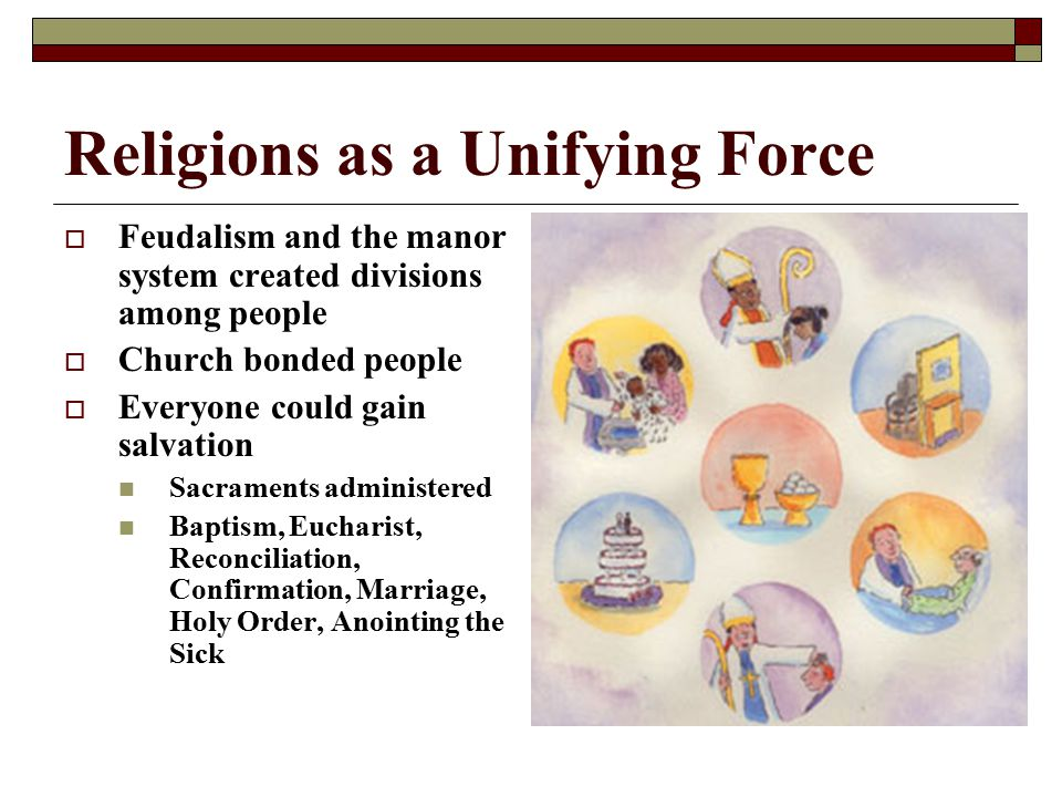 Religions as a Unifying Force