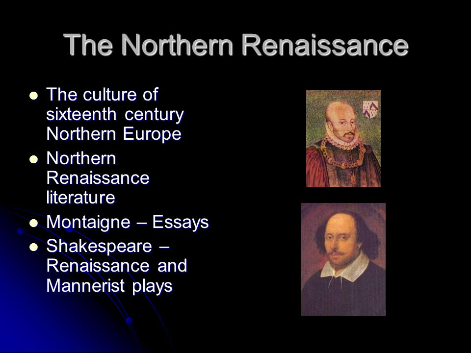 Artistic Traditions of the Northern and Italian Renaissance