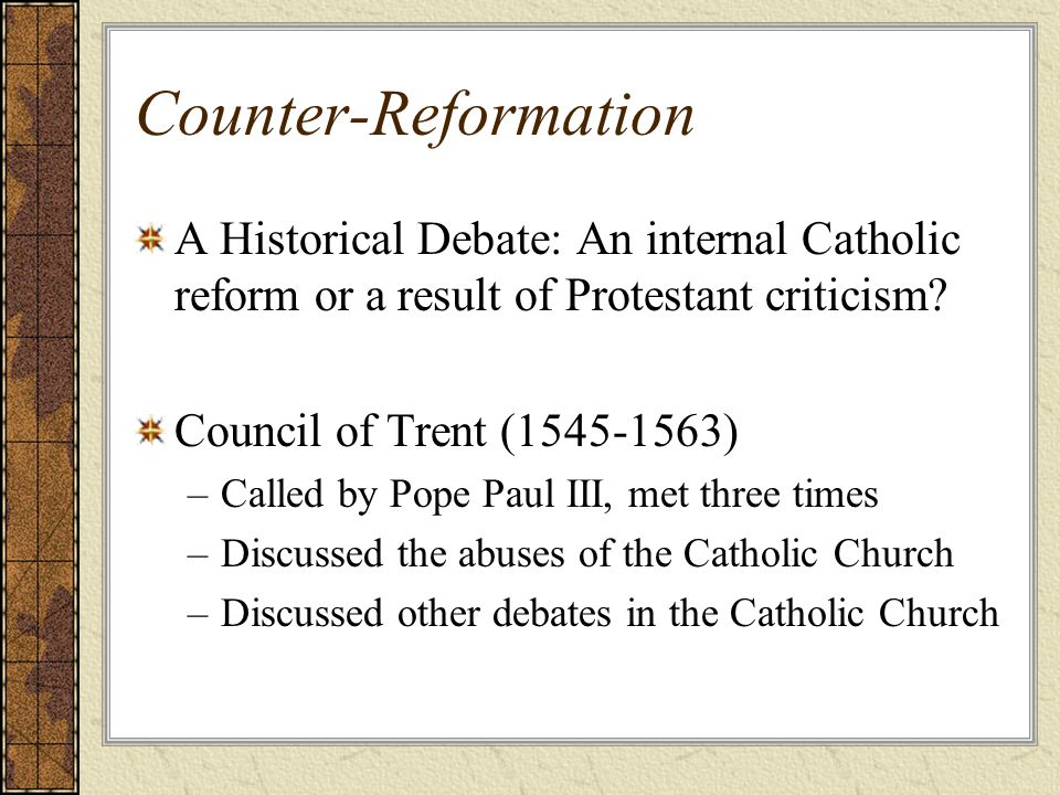 a comparison on the take of protestantism and catholic church on suicides Erasing distinctions eight protestant trends by aaron m renn, appearing in volume 25 some of these affect the roman catholic church as well.