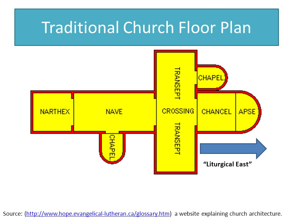 14 1 church reform and the crusades ppt video online for Traditional church floor plans