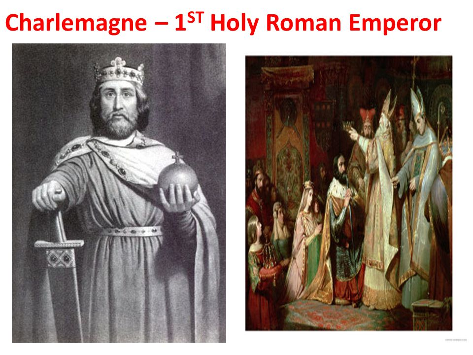 Charlemagne – 1ST Holy Roman Emperor