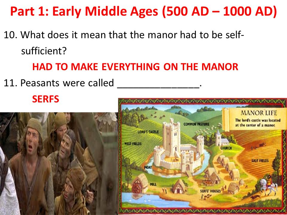Part 1: Early Middle Ages (500 AD – 1000 AD)
