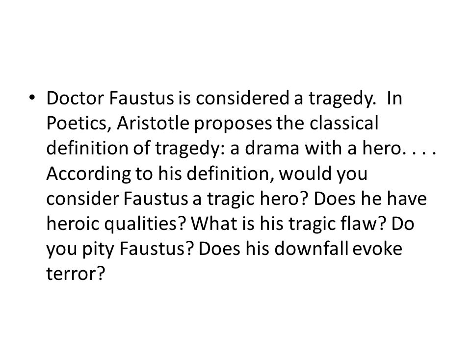 Faust Essay Samples