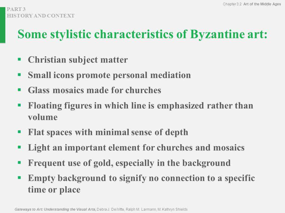 Characteristics Of Line In Art : Introduction middle ages medieval byzantium ppt video