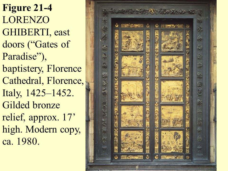 The The East Doors of the Florence Baptistry by Ghiberti - AOL Image Search Results  sc 1 st  AOL Search & The The East Doors of the Florence Baptistry by Ghiberti - AOL ...