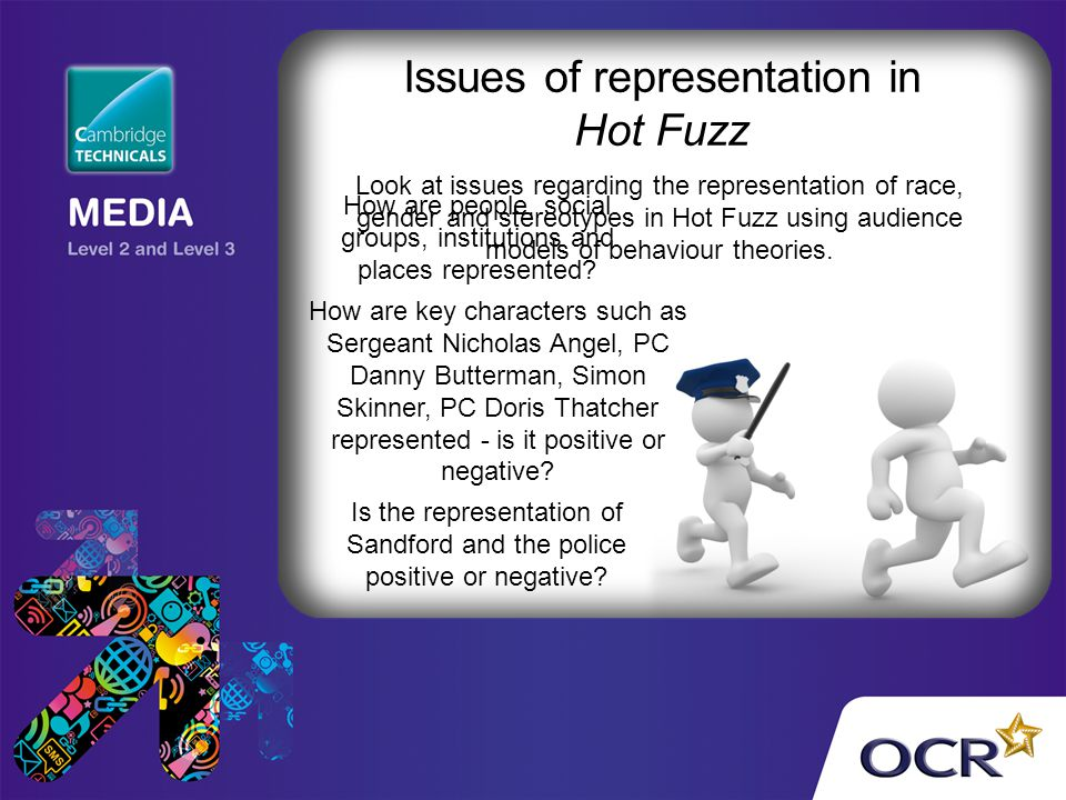 Issues of representation in Hot Fuzz
