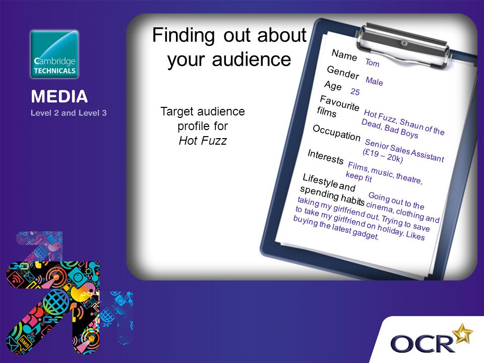 Finding out about your audience