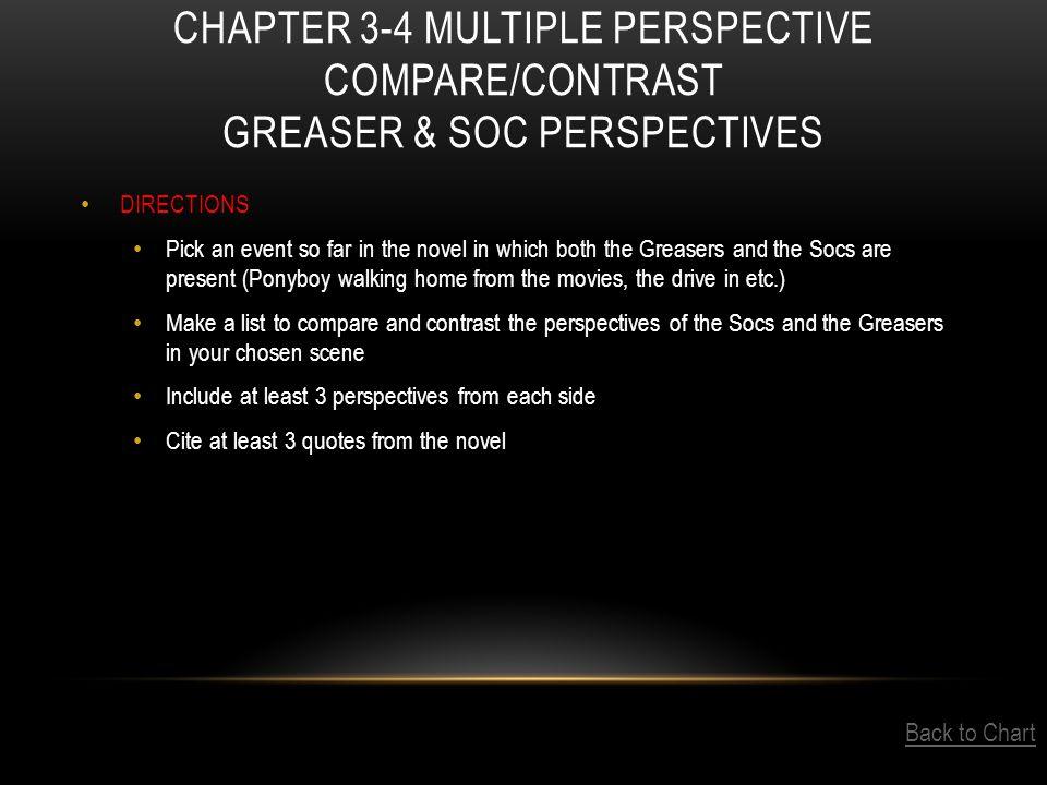 greaser soc comparison essay