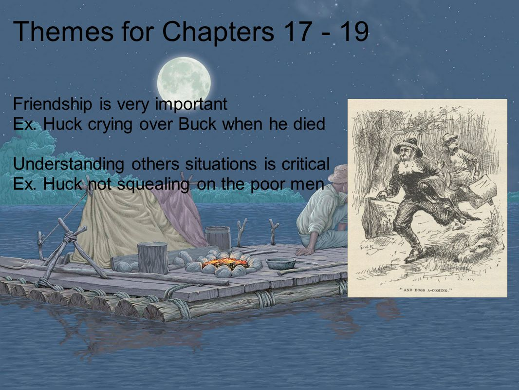 friendship huck finn essays 1 huck finn is a thirteen-year-old boy why does twain use a child as the center of consciousness in this book.